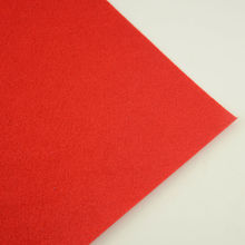 Red Colour 1mm Thick for Clean Materials Embroidery Tradmarks Gift Package 100% Polyester Photographic Backgrounds Felt Fabric(China)