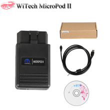 WITech MicroPod 2 V17.04 Diagnostic Program Tool for Chrysler Support Multi-Language Work as Replacement for WitechPod