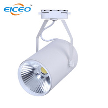 Hot sale 7w Led track light supplier white/black housing avaible COB track lights two lines wire 110lm/w free shipping CE(China)