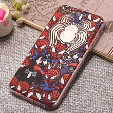 For Iphone6 6s 6P 6sP Cute Cartoon Design Mobile Phone Case Full Sets of Silicone Back Cover Mobile Phone Bag With Dust Plug