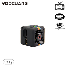 YOOCUANG  SQ11 Newest miniature Camera HD 1080P Mini Camera Night Vision Sport Outdoor DV Voice Video Recorder Action Camera