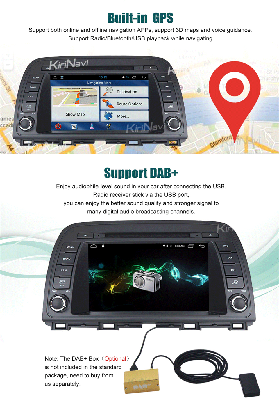 car multimedia system for Mazda Atenza (6)