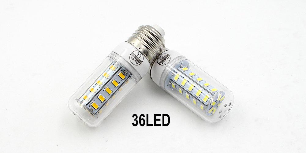 LED Lamps 110V 220V SMD 5730 Corn Bulb E27 E14 B22 G9 GU10 Light Bulbs Lampada Energy Saving Lights for chandelier lighting