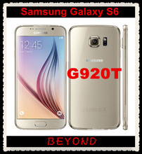 "Samsung Galaxy S6 G920T Original Unlocked  GSM 4G LTE Android Mobile Phone Octa Core 5.1"" RAM 3GB ROM 32GB 16MP Dropshipping"