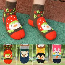 Excellent Quality 3D Women Cartoon Socks Coral Cashmere Socks Deodorant meias personagens vicky