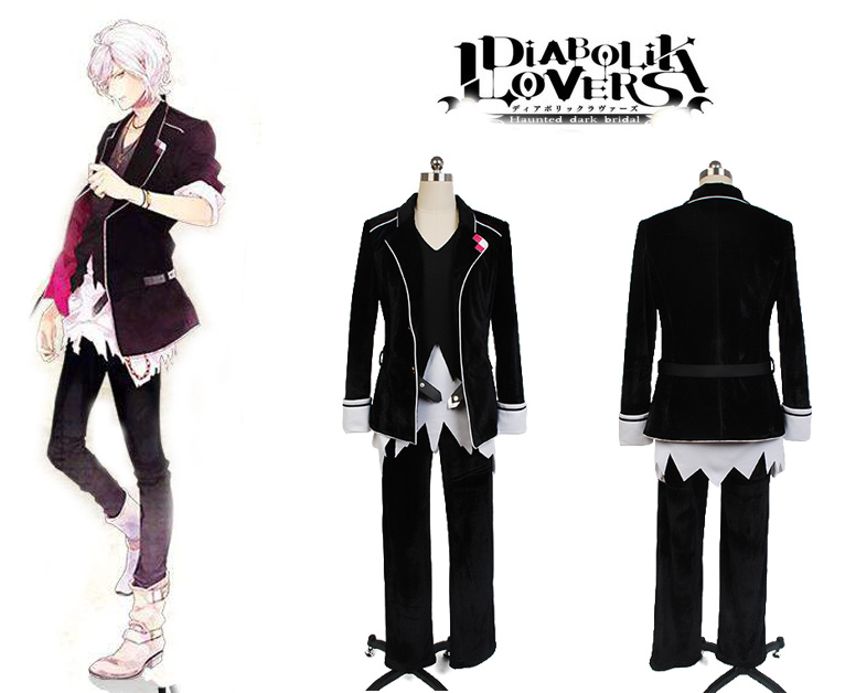 DIABOLIK LOVERS Subaru Sakamaki Cosplay Costume For Men Halloween Costume