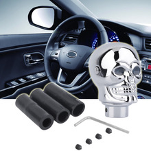 Universal Skull Gear Shift Knob lever Stick Lighted Gears Rally Racing Shifter for Manual Transmission Blue Eyes Hot Selling