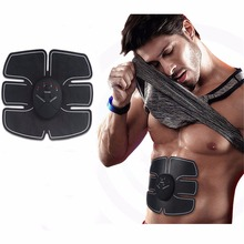 Wireless Electrical Muscle Stimulator Fitness Abdominal Training Device Massage Weight Loss Stickers Body Slimming Belt Relax(China)