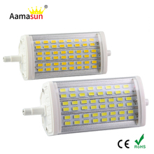 1Pcs R7S LED Lamps AC110V 220V 25W J118mm LED Light SMD 5730 48LED r7s dimmable 5730 corn bulb replace Halogen Floodlight()