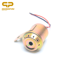 Motorcycle tricycle universal durable portable 12V/24V105DB metal gold backup reverse alarm horn stable speaker CE certification(China)