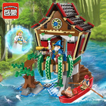 2017 Low Price Enlighten Pirate Series sorcerer hut 1309 Building Block DIY Assembling Brick Eduction Toys Gift For Collection
