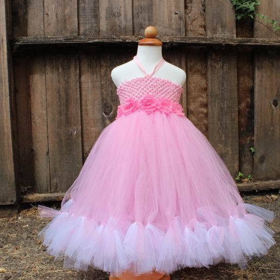 Handmake 2015 New Girl TUTU Dress Lace Rose Flower Belt 2 Layer Gauze Princess Dress Girl Party Dress 1-8Y 13776<br>