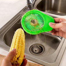 New Creative Corn Vegetable & Fruit Brush Great Cleaning Tool Practical Kitchen tools Hand Use Random Color