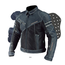 2017 GPFORTYSIX high quality  JK-006 Motorcycle Jacket Breathable Mesh Riding Racing Denim Jacket with protector