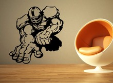 American Football forward man Kids Room Stylish Wall Art Sticker Decal