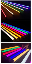 Toika 50pcs/lot 3ft 15W 900MM T5 integrated LED tube light  Tube lamp 0.9m red green blue colorful tube AC85-265V