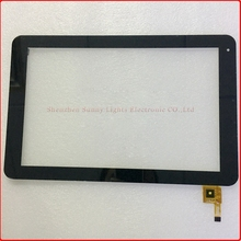 "10.1"" Touch Screen Digitizer for Prestigio PMP5101C_QUAD 12pin Free Shipping via Post with tracking No.(China)"