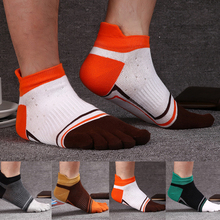 WHLYZ YW spring and summer 5 finger socks men cotton compression breathable toe socks male boy Sock Slippers meias masculino