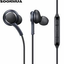 SOONHUA Bas Bass In-Ear Écouteurs Super Clear Oreille Bourgeons Écouteurs Intra-auriculaires à isolation de Bruit Pour iphone 6 Xiaomi Samsung S8 S8 + note 8(China)