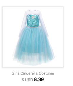 Girls Elsa Dress