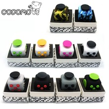 9 Types Squeeze Stress Reliever Fidget Cube PC Vinyl Fidgetcube Game Toy kickstarter Fidget Toys for Girl Boys Christmas Gifts
