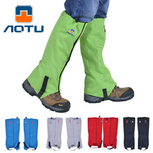 New Brand Winter warm breathable Waterproof Outdoor Hiking Skiing Climbing Hunting Trekking Snow Legging Gaiters Shoes Covers