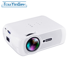 Touyinger Everycom X7 Series Miracast Airplay Wifi Optional Mini Projector LED ATV Beamer 1800 Lumens Portable LCD Home Theater