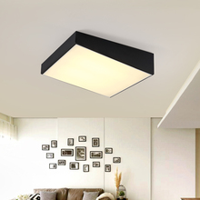 Modern office lighting Ceiling Lights Square led bedroom lamp restaurant ceiling lamps study creative Ceiling lamps ZA BG20