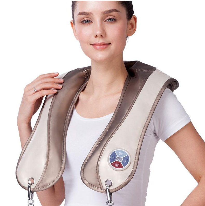 Quality physiotherapy electric heating vest back support shoulder pad vest heated shawl suitable for back pain relief/tb121023<br>