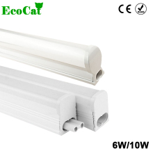 LED Tube lamp 6W 10W 220V 240V 30cm 60cm LED Wall light Cold White LED Fluorescent T5 T8 Neon LED T5 Lamp PVC Plastic(China)