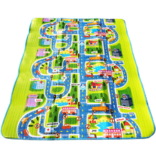 0.5cm City Town Traffic Baby Crawling Mat Mats Kids EVA Foam Climbing Pad Children's Carpet Blanket Baby Toys Play Mat(China)