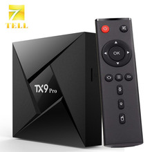 TX9 PRO Android 7.1 TV Box 3G 32G Amlogic S912 Octa-Core Gigabit Ethernet LAN Bluetooth 4.1 Dual WIFI KODI Set Top Box(China)