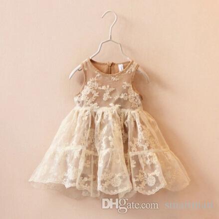 Sweet Baby Girls Tutu Organza Dress Ruffles Vintage Princess Holiday Party Dress Candy Color Dress<br><br>Aliexpress