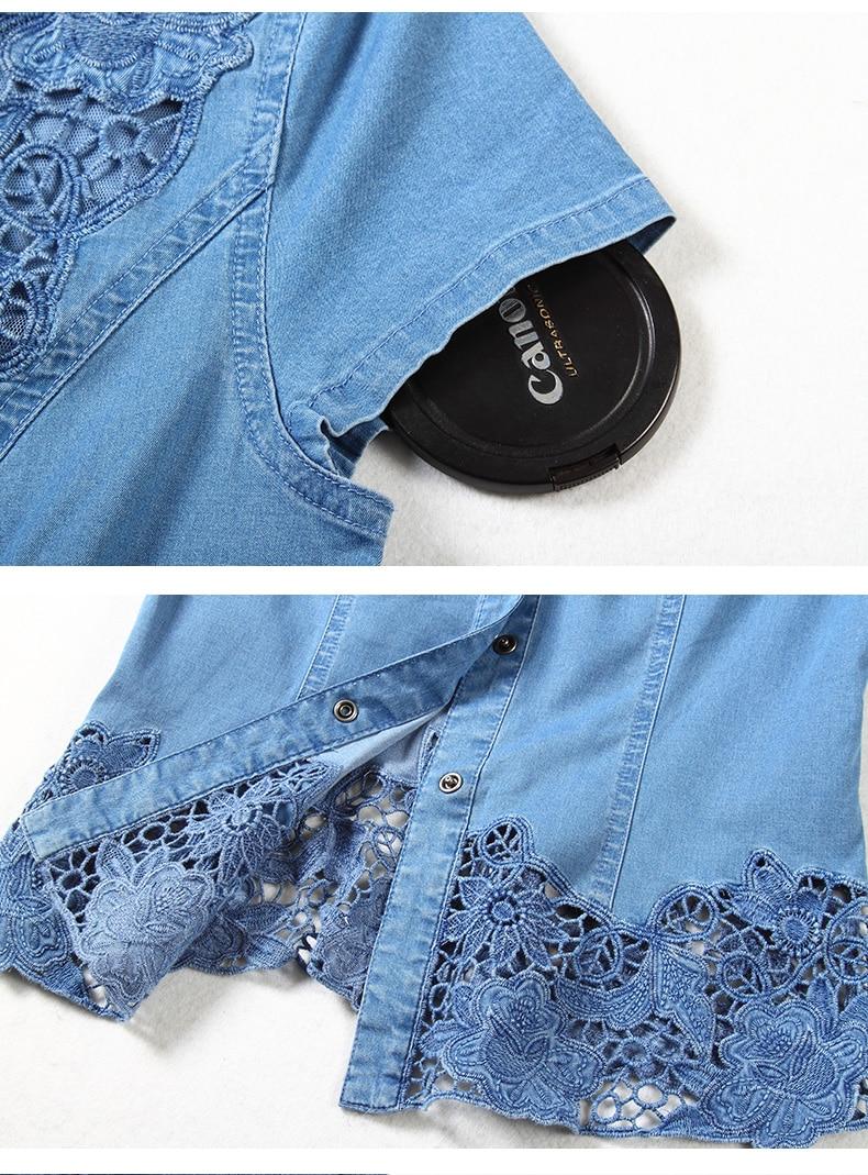 Lace Shirt Denim (13)