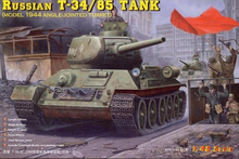 HOBBYBOSS 84809 1/48 Scale Russian T34/85 tank with Full Interiors Plastic Model Building Kit