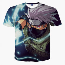 cartoon t shirt kids Anime Dragon Ball Super Saiyan Goku Print 3D T-shirt Children's tops Cuhk child clothing