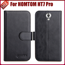 Buy Hot Sale! HOMTOM HT7 Pro Case New Arrival 6 Colors High Flip Leather Protective Phone Cover HOMTOM HT7 Pro Case for $4.59 in AliExpress store