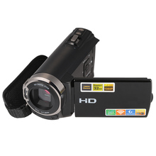 "3.0"" TFT LCD Touching Screen 1080P HD 20MP 16X Zoom Digital Video Camera Recorder DVR Camcorder Support for Wifi IR Night-Shot"
