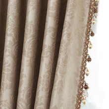 high-grade shading cloth giants finished custom curtains for special offer European style living room bedroom balcony(China)