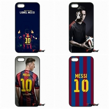 For Moto E E2 E3 G G2 G3 G4 G5 PLUS X2 Play Nokia 550 630 640 650 830 950 Lionel Leo Messi No. 10 Pattern Football star Case(China)