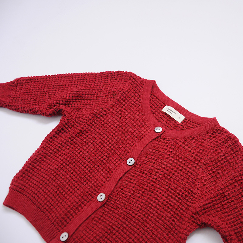 Newborn Baby Cardigan Sweater For Boys Girls Autumn Infant Girl Knied Sweater Clothes Toddler Boy Coon Cardigan Outerwear (10)