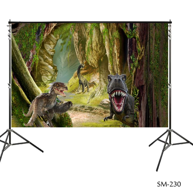 CSFOTO 10x7ft 3D Dinosaur Backdrop Jurassic World Theme Party Photography Background Birthday Backdrop for Boy Room Decor 3D Wildlife Kid Children Portrait Photo Studio Props Museum Wallpaper