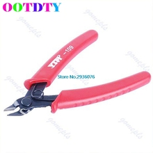 Mini 5-inch Electrical Crimping Plier Snip Cutter Hand Tool Red Wholesale Support APR13_35(China)