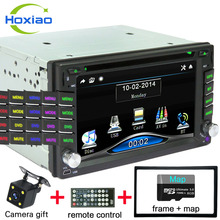Car dvd player 2 DIN Car DVD GPS/ CD / MP3 / mp5 / usb / sd / players Bluetooth Touch screen hd After reversing camera Free(China)