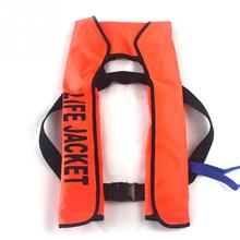 Automatic Inflatable Life Jacket Swimming Fishing Life Vest 5 Sec Rescue Vest 15kg Buoyancy Swimwear kayak Man/women Life Jacket(China)