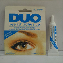 Professional Eyelash Glue 9g, Anti-sensitive Hypoallergenic Individual False Eyelashes Glue 0851 Duo White