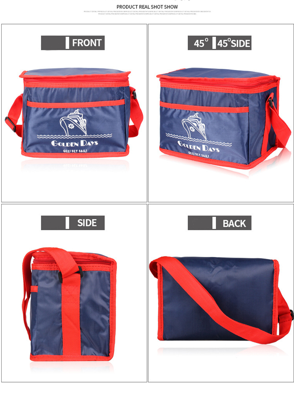 Extra Large 38L Thickening Cooler Bag Ice Pack Insulated
