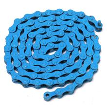 High-carbon steel mtb road Fixed bike bicycle cycling gear track chain single speed chain magic button chain colorful 96 link