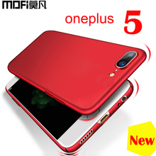 Oneplus 5 Case cover original Mofi full protection red one plus case ultra thin fitted hard back cases - Franchised store
