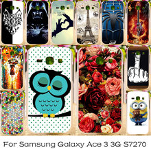 TAOYUNXI Silicone Plastic Phone Case For Samsung Galaxy Ace 3 3G S7270 LTE S7275 S7272 S7278 Housing Cover Bag Shell Covers